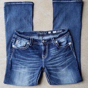 Miss Me Easy Bootcut Jeans.  Size 28